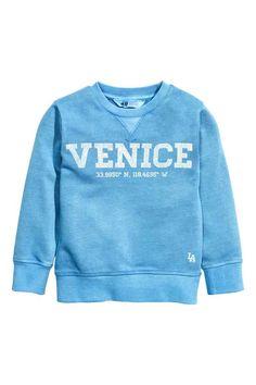 Sweatshirt - Blue/Venice - Kids | H&M 1