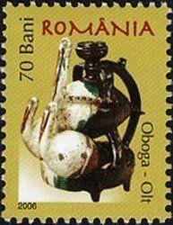 Stamp%3A%20Pottery%20-%20Oboga%20(Olt)%20(Romania)%20(Folklore)%20Mi%3ARO%206052%2CSn%3ARO%204807%2CWAD%3ARO031.06%20%23colnect%20%23collection%20%23stamps
