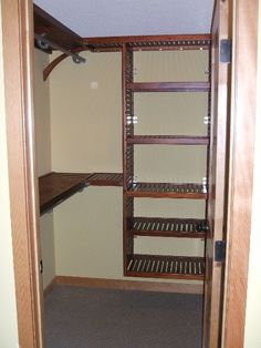 Allen Roth Closet. Image Gallery | Walk In Closets   Red Mahogany