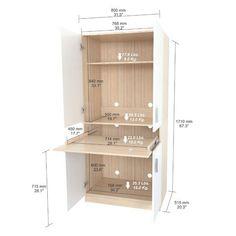 Latitude Run Bluxome Armoire Desk Office Furniture, Home Furniture, Furniture Design, Rustic Furniture, Cheap Furniture, Luxury Furniture, Outdoor Furniture, Smart Furniture, Furniture Market