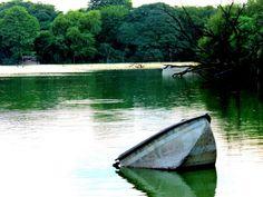 Hauz Khas lake, Delhi , Inda