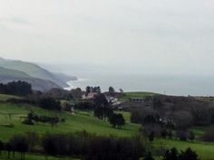 Aberystwyth golf course. Hilly but great views.  Really enjoyed it played with Val, Jeff & Ralph 19/3/14