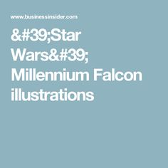 'Star Wars' Millennium Falcon illustrations