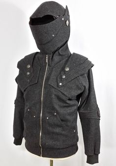 MercuryWool The Dark Knight Hoodie by MagicShadow on Etsy