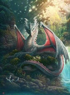 If I was given the opportunity of picking a freaking legendary pet, it would be a freaking legendary dragon Mythical Creatures Art, Mythological Creatures, Magical Creatures, Fantasy Creatures, Fantasy World, Fantasy Art, Tiny Dragon, Dragon Artwork, Dragon Drawings