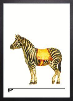 Zebra Giclée print