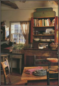 Wish my kitchen looked like this. For image only.