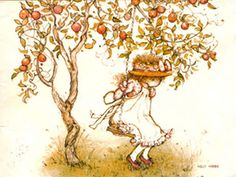 Holly  Hobbie  sull'altalena