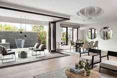 Carmelle 30: Alfresco, dining room and living room