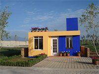 Habiterra interlocking site made cement blocks for affordable building
