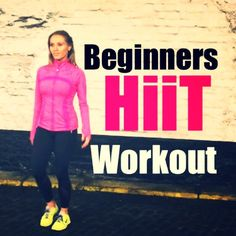 Hiit Home Workout For Beginners - Real Time