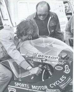 Barry Sheene & Mike Hailwood.