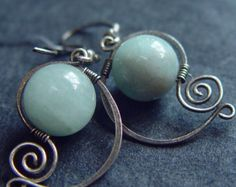 Elegant Aquamarine Earrings