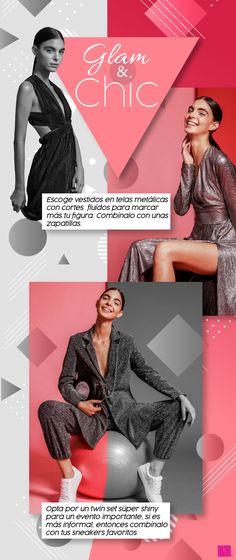Descubre cómo llevar un look glam & chic para ir a esos eventos especiales con mucho estilo.