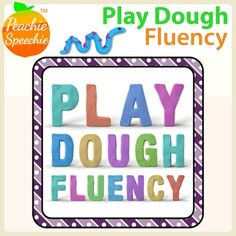 These activities are designed with preschool and early elementary aged children in mind and require play-doh to complete. {Note: This product addresses speech fluency (stuttering) not reading fluency}Included in this download: 30 mats addressing the following skills: - Identifying smooth vs.