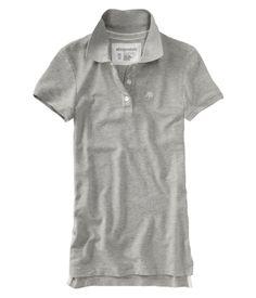 Aeropostale women s Uniform A87 3 button polo shirt - Style 4442 9715b4d07b782