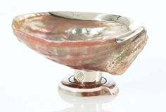 A luxe way to have shells on your dining table! :-) Abalone Sugar Bowl on OneKingsLane.com