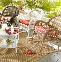 Cure cabin fever Shop Pier 1 Outdoor Furniture The Santa Barbara