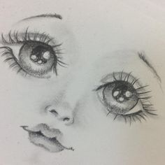 1 million+ Stunning Free Images to Use Anywhere Pencil Drawing Pictures, Pictures To Draw, Doll Face Paint, Doll Painting, Dolly Doll, Doll Eyes, Sewing Dolls, Doll Head, Soft Dolls