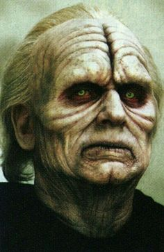 CAUTION: Do not stare into the eyes of a Sith...