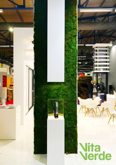 Do you want an effective and unique trade show booth for your company? Add a and attract more visitors! Get inspired by the moss booth we created for the company Tetragon (www.gr) at Infacoma Athens Exhibition.