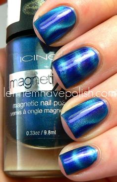 magnetic nail polish. cool idea.