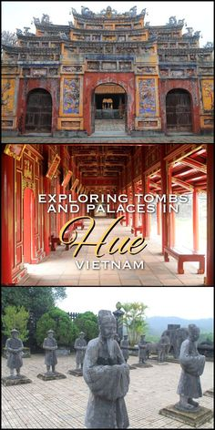A day in Hue, Vietnam -- we saw heaps of tombs, a couple of palaces and lots of colourful gates.