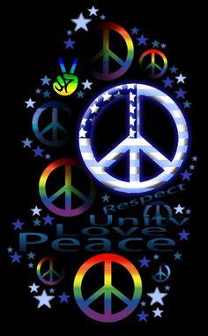 Peace, love, and unity Paz Hippie, Hippie Peace, Happy Hippie, Hippie Love, Hippie Things, Hippie Chick, Hippie Trippy, Hippie Style, Peace On Earth