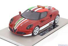Alfa Romeo 4C, SBK Safety Car 2014. Top Marques, 1/18, No.TOP10. 100€