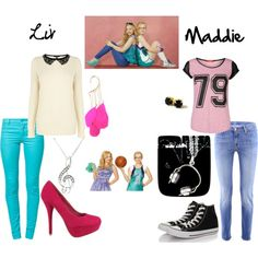"""Liv and Maddie!"" by hannahbee816 on Polyvore"