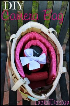 Lucky Design: Camera Bag sew it yourself
