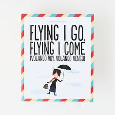 Archivador - Flying I go, flying I come