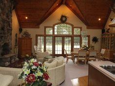 Ultimate Rental Luxury - 500 acre retreat- 6 bedroom homeVacation Rental in Park Falls from @HomeAway! #vacation #rental #travel #homeaway