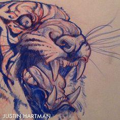 Justin Hartman @justinhartmanart Instagram photos | Websta