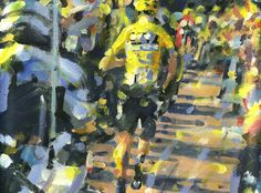 PAINTING LE TOUR: TDF 2016 stage 12