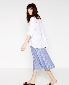 Image 1 of OVERSIZED SHIRT from Zara