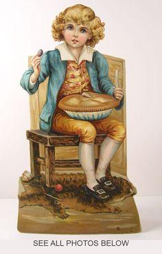 "LITTLE JACK free paper dolls at Arielle Gabriel""s The International Paper Doll Society and free Chinese Japanese paper dolls at The China Adventures of Arielle Gabriel * Vintage Greeting Cards, Vintage Ephemera, Decoupage, Royal Art, Vintage Fairies, Victorian Art, Victorian Ladies, Vintage Holiday, Nursery Rhymes"