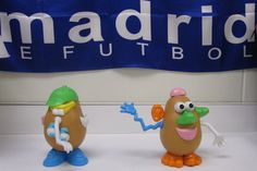 Using Mr. Potato Head or Senor Cara de Papa in Spanish class to teach and practice body parts.