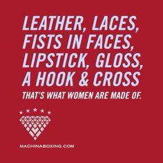 Women belong and will transform this sport!