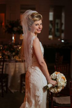 Anne Barge lace wedding gown Photo from Cece Jonah collection by Nami Dadlani Photography