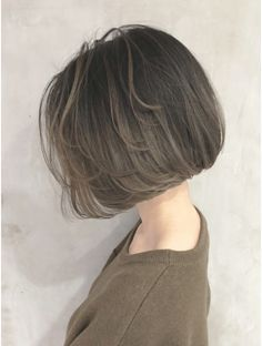 Pin on 髪型 Bob Hairstyles For Fine Hair, Short Hairstyles For Women, Braided Hairstyles, Pixie Hairstyles, Medium Hair Styles, Short Hair Styles, One Length Haircuts, Asian Short Hair, Short Hair Trends