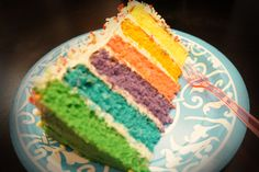 Rainbow Cake! Cupcakes, Rainbow, Baking, Desserts, Food, Rain Bow, Tailgate Desserts, Patisserie, Cup Cakes