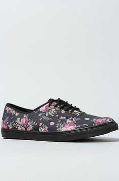 The Authentic Lo Pro Sneaker in Black Floral