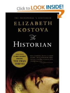 The Historian: Elizabeth Kostova: 9780316070638: Amazon.com: Books