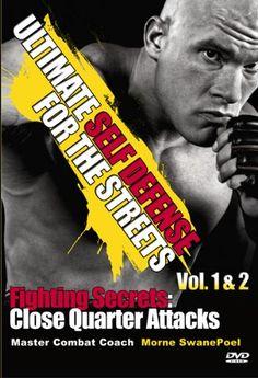 Ultimate Self Defense MMA Combating Secrets For The Streets: Close Quarter Attacks Vol 1 & 2 Self Defense Weapons, Surveillance System, Mma, The Secret, Mixed Martial Arts