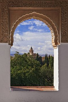 Granada, Spain  Love the sexy Arabic influence here - it hangs heavy in the air like low-hanging fruit on a fine