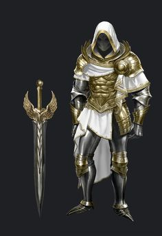 for path of exile Dungeons And Dragons Characters, Dnd Characters, Fantasy Characters, Armadura Medieval, Armor Concept, Weapon Concept Art, Fantasy Armor, Fantasy Weapons, Character Modeling