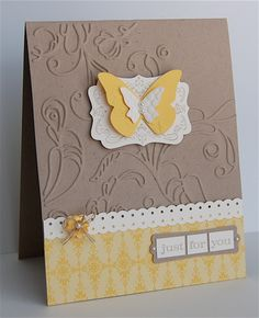 Stampin Up: Four Frames. And Beautiful Wings.