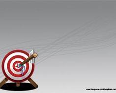 Arrow Target powerpoint