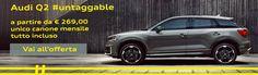 Offerta noleggio lungo termine Audi Q2